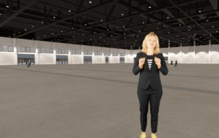 Messe Berlin – hub27 – Virtual Reality Architekturvisualisierung