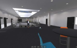 The gamma floor of hub27 hosts even more smaller conference and meeting rooms.