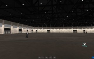 The event and multifunctional hall with over 10.000 square meters.