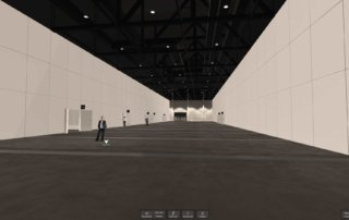 hub27 – Messe Berlin – Virtual Reality-Architekturvisualisierung